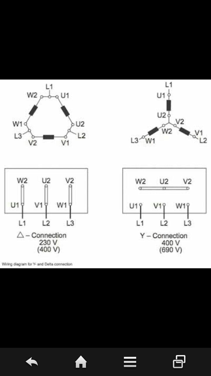 Wiring Diagram Rangkaian Star Delta Untuk Starting Motor 3ph Teguh Elektro Perbedaan Hubungan Dengan Pada Gulungan